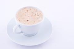чашка capuccino Стоковые Изображения