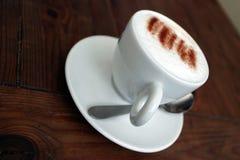 чашка capuchino Стоковое Изображение