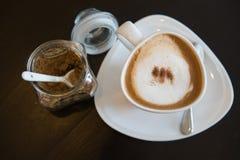 Чашка cofee капучино Стоковое фото RF