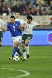 чашка fifa Ирландия Италия против мира Стоковые Изображения RF