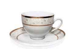Чашка oh плита Стоковые Фото