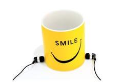 Чашка Smiley Стоковые Изображения RF