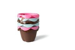Чашки булочки Стоковые Изображения