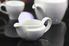 Чашки гончарни для выпивать Стоковая Фотография RF