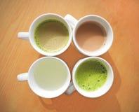 Чашки горячих пить Стоковое Изображение RF