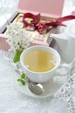 чашки жизни чай все еще Стоковое Изображение