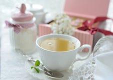 чашки жизни чай все еще Стоковые Фото