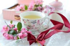 чашки жизни чай все еще Стоковые Изображения RF