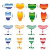 Чашки и бокалы Стоковое фото RF
