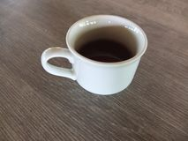 Чашки кофе и чай стоковое изображение rf