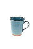 Чашки кружки на белой предпосылке Стоковая Фотография