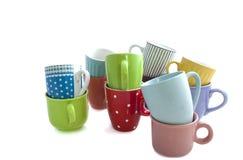 Чашки на куче Стоковое Изображение RF