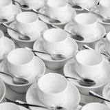 чашки опорожняют Стоковое Изображение