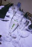Чашки перед большой славно, который хранят wedding Стоковые Изображения