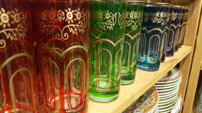 Чашки радуги Стоковые Изображения