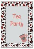 Чашки с костюмами карточек Стоковая Фотография