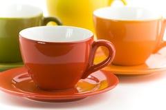Чашки цвета Стоковая Фотография RF
