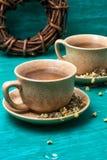 2 чашки чая стоцвета Стоковые Изображения RF
