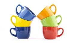 Чашки для команды дела Стоковое фото RF