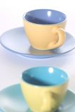 чашки 2 стоковое изображение rf