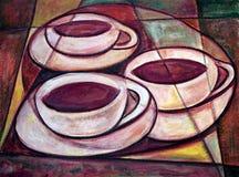 чашки 3 Стоковая Фотография RF