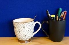 2 чашки Стоковое Изображение RF