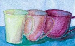 чашки Стоковое фото RF