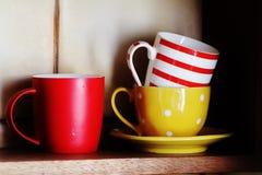 чашки Стоковые Изображения