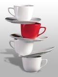 чашки ii Стоковые Изображения