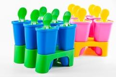 Чашки Popsicle Стоковые Фотографии RF