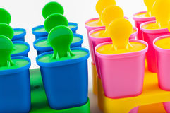 Чашки Popsicle Стоковые Фото