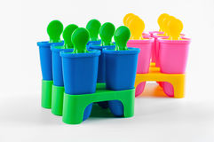 Чашки Popsicle Стоковое Фото