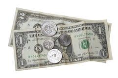 чеканит деньги Стоковое фото RF