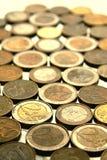 чеканит евро стоковая фотография rf