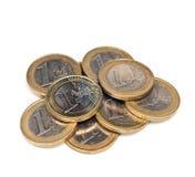 чеканит евро Стоковое Фото