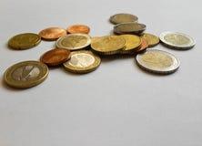 чеканит евро Стоковые Изображения