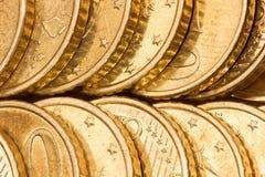 чеканит золотистое Стоковые Изображения