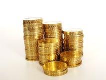 чеканит золотистое Стоковое Изображение RF
