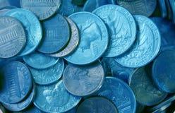 чеканьте деньги стоковое фото rf