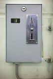 Чеканьте управляемый торговый автомат Стоковые Фото