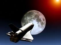 Челнок в небе 54 Стоковая Фотография RF