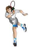 челнок игрока Стоковое Изображение RF