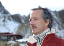 человека портрет outdoors Стоковые Фото