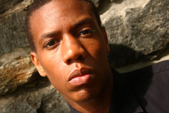 человек афроамериканца Стоковое фото RF