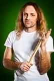 Человек барабанщика Стоковые Фото