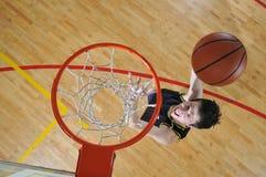 Человек баскетбола стоковое изображение rf