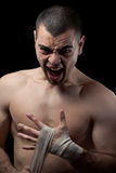 человек боксера Стоковые Изображения RF