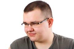 человек брюзглый Стоковые Фотографии RF