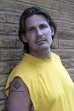 человек взгляда grunge Стоковое фото RF