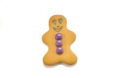 человек влюбленности gingerbread Стоковое Фото